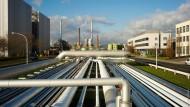 Industrie in Frankfurt: im Bild der Industriepark Höchst