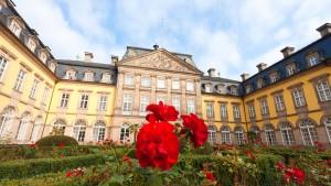 Lesen auf Schloss Waldeck