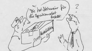 Karikaturist des Bundestags