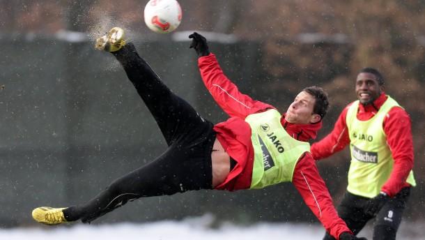 17.01.2013, Fussball, 1. BL, Training Eintracht Frankfurt