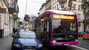 Mit Elektroantrieb durch die Stadt