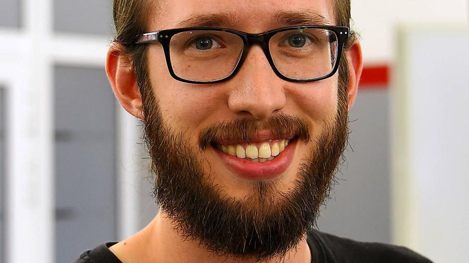 Industriechemie-Student an der Fresenius Hochschule: Patrick Bischof
