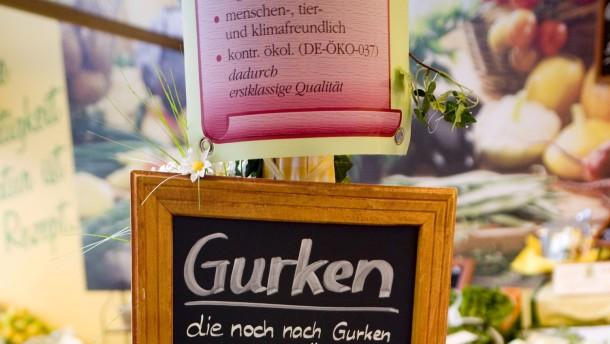 Auch Gurken aus Frankfurt gehen kaum