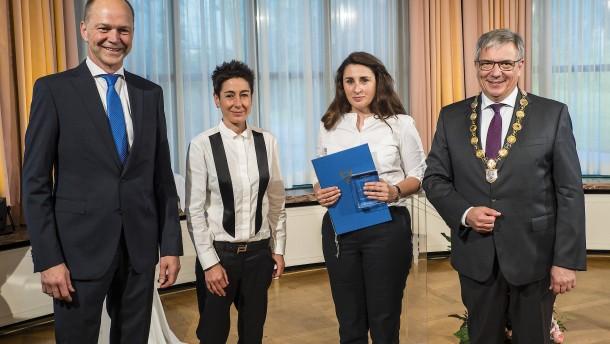 Basay-Yildiz für Zivilcourage ausgezeichnet