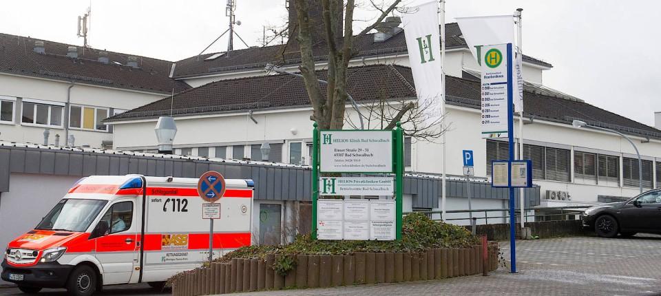 Bad Schwalbach Landrat Hat Für Helios Klinik Bereits Plan B
