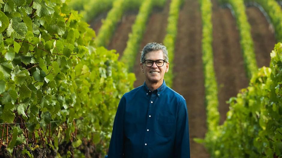 Kalifornischer Ausnahme-Önologe: Paul Hobbs in einem seiner zahlreichen Weinberge