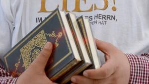 Koranverteilung verboten