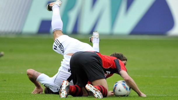Fußballbundesliga - Das Spiel Eintracht Frankfurt gegen den FC Ingolstadt findet im Frankfurter Stadion statt