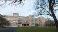 Ort mit Geschichte: An der Uni Frankfurt könnte bald eine Professur für Holocaustforschung eingerichtet werden. Ihr Hauptgebäude ist als früherer Sitz des IG-Farben-Konzerns mit dem Massenmord verbunden.