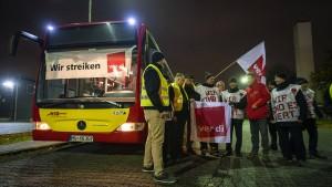 Busfahrer verdienen zu wenig