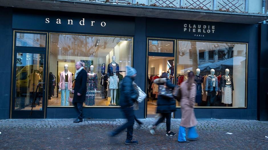 Et voilá: Sandro an der Freßgass' hat Gesellschaft aus dem eigenen Unternehmen.
