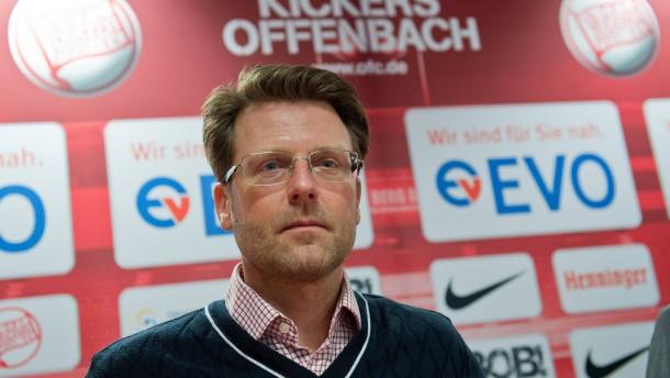 Rico Schmitt neuer Trainer bei den Kickers Offenbach