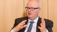 Sorgte für eine gute Nachricht für die Fair Finance Week: Finanzminister Schäfer