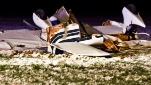 Tragisches Flugzeug-Unglück in Wölfersheim