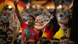 Zwei Public-Viewing-Arenen zur  Fußball-WM