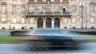 Wartestand: Das Land sucht weiter nach Investoren für das Alte Polizeipräsidium in Frankfurt