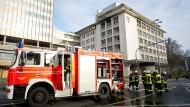 Verdacht auf Brandstiftung in Kureck-Bürohaus