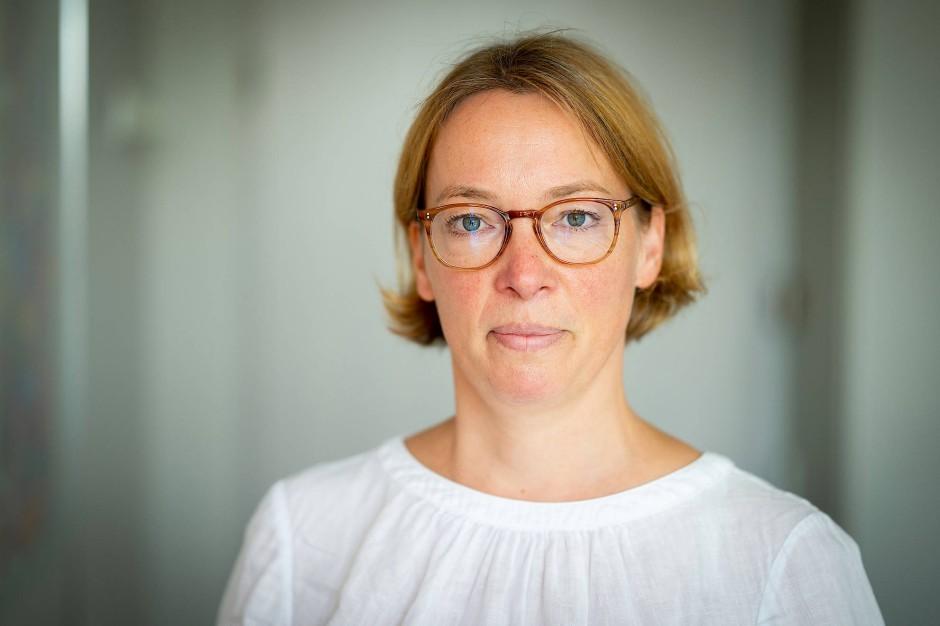 Im Landesdenkmalamt für Frankfurt zuständig: Maria Wüllenkemper