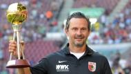 Der amtierende Trainer des Jahres: Dirk Schuster, inzwischen beim 1. FC Augsburg
