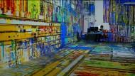 """Neu abgemischt: Matt Romeins dynamische audiovisuelle Landschaft """"analmosh"""" verändert sich ständig"""