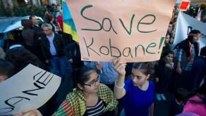 Tausende bei Kundgebungen für Kobane