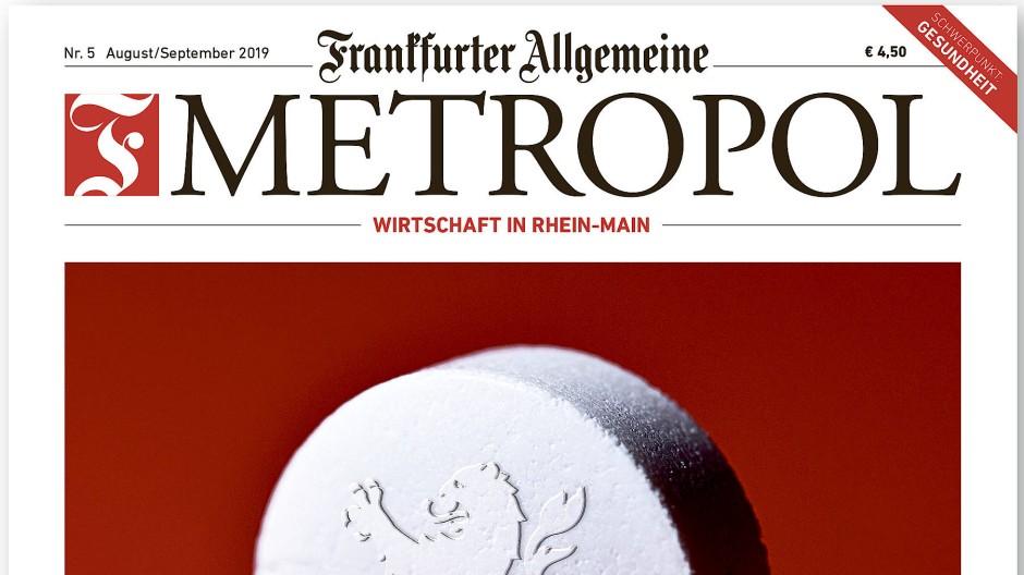 Die aktuelle Ausgabe: Frankfurter Allgemeine Metropol