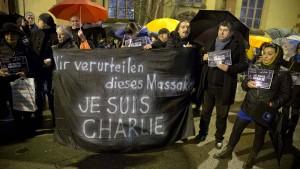 Frankfurt trauert mit Frankreich