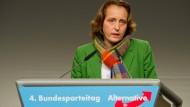 AfD-Vize von Storch schränkt Forderung nach Schießbefehl ein