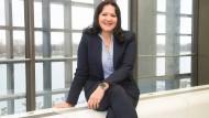 Neue Mainzer Wirtschaftsdezernentin: Manuela Matz, in ihrem Büro