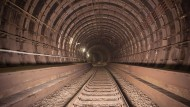 Ungewöhnlicher und vor allem gefährlicher Fluchtort: Frankfurter S-Bahn-Tunnel