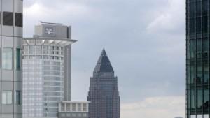 Werben für die Stadt der Banken