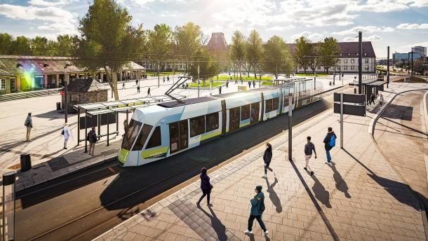 Mehrheit lehnt Straßenbahn ab