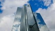 Finanziert ihre Pensionen fast vollständig aus: Die Deutsche Bank