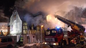 Polizei fahndet nach Feuerteufel