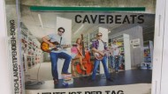 Umstritten, aber in vieler Munde: die Cavebeats mit ihrem Werbesong für die TUD