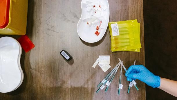 Sonderaktion im Impfzentrum