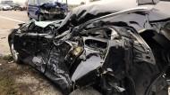 In Stauende gefahren: Tödlicher Unfall auf A67