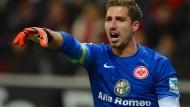Sprachrohr der Mannschaft: Eintracht-Kapitän und Torwart Kevin Trapp
