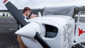Lehrstunde in der Cessna