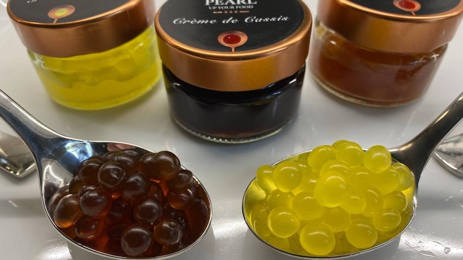 Ohne Farb- und Zusatzstoffe: Die Gourmet-Perlen von Yana Steudel gibt es in mehr als einem Dutzend Geschmacksrichtungen.