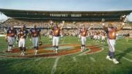 Heimspiel: Das Waldstadion war früher eine Hochburg des europäischen Football. Das Foto stammt aus dem Jahr 1996.