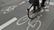 Schlechte Noten für Radwege