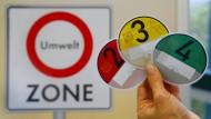 Einmal zahlen für vier Umweltzonen