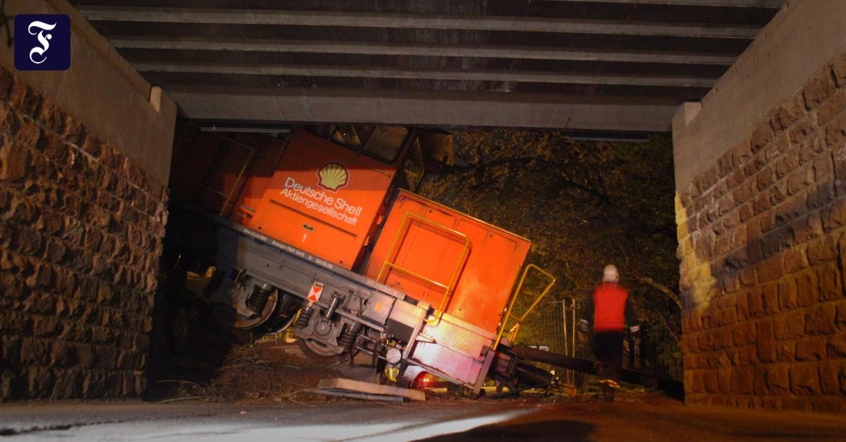 Zugunfall Hessen