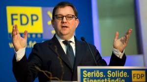 Hessische FDP drängt Geiger nicht zum Rücktritt