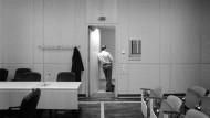 Warten auf die Beteiligten: im Landgericht Frankfurt