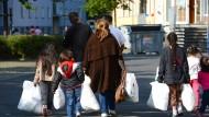 Wohnmodule als Unterkünfte für Flüchtlinge
