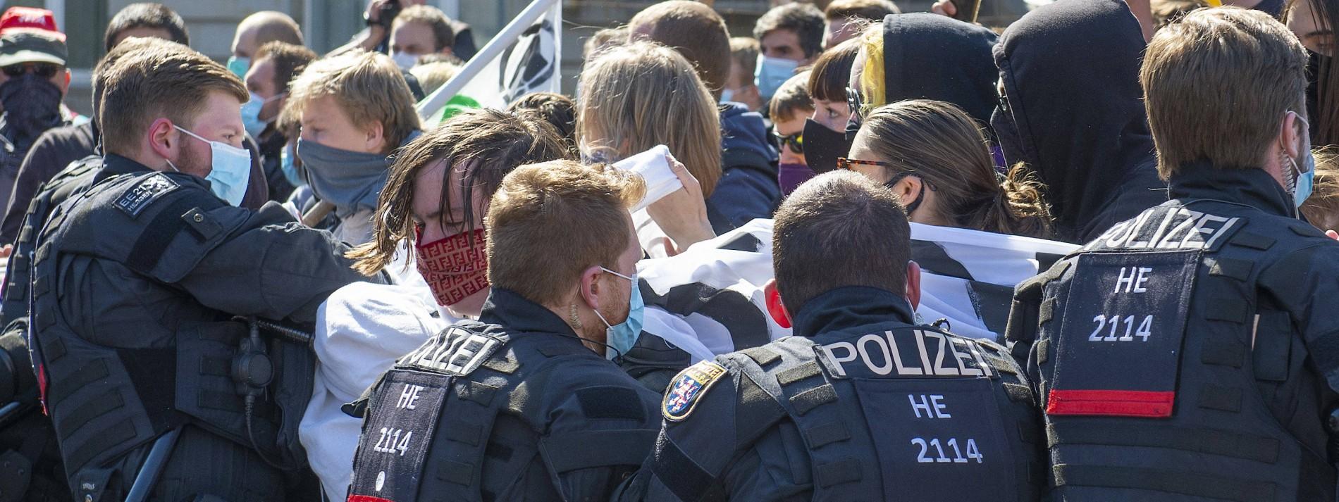 Staatsschutz ermittelt nach Corona-Protesten