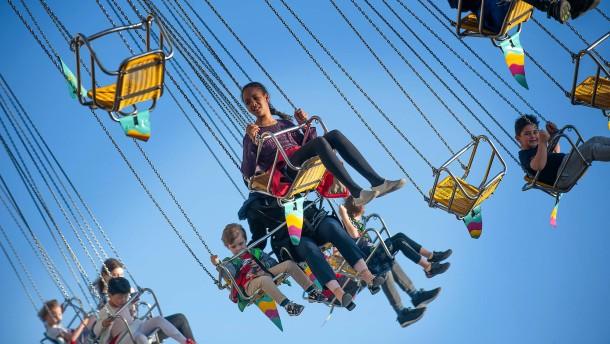 Volksfest als temporärer Freizeitpark