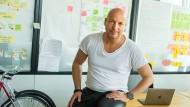 Christopher Jahns, früherer Präsident der Privat-Universität EBS, hier in seinen Arbeitsräumen in Berlin